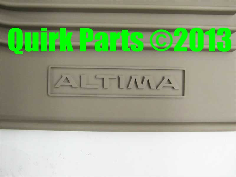 2013 2015 Nissan Altima Biege All Weather Rubber Floor