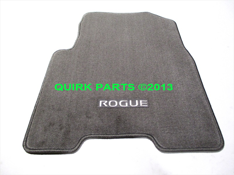 2008 2013 nissan rogue carpeted floor mats brand new oem. Black Bedroom Furniture Sets. Home Design Ideas