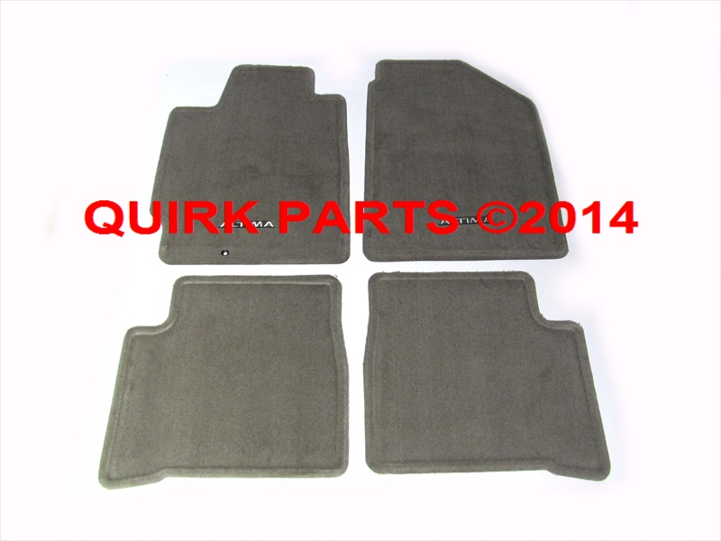 2002 2006 nissan altima frost floor mats brand new oem. Black Bedroom Furniture Sets. Home Design Ideas