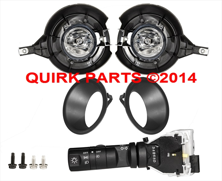 2010 2015 Nissan Frontier Fog Light Lamp U0026 Switch Kit For Steel Bumpers OEM  NEW | EBay