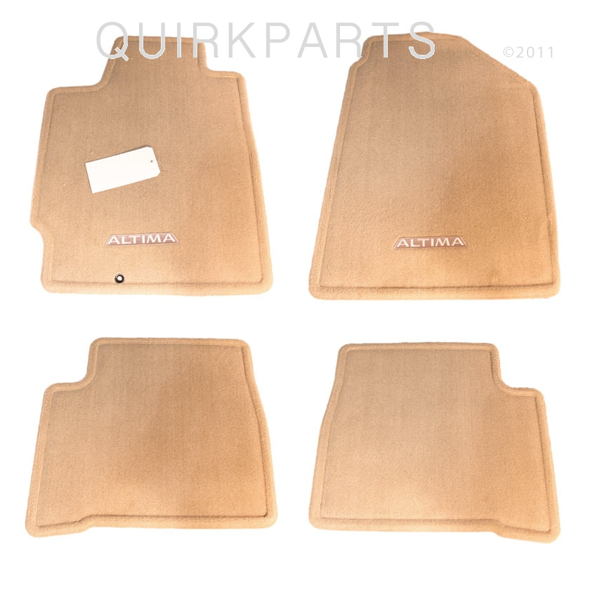 2002 2004 nissan altima floor mats carpeted blond set of 4. Black Bedroom Furniture Sets. Home Design Ideas