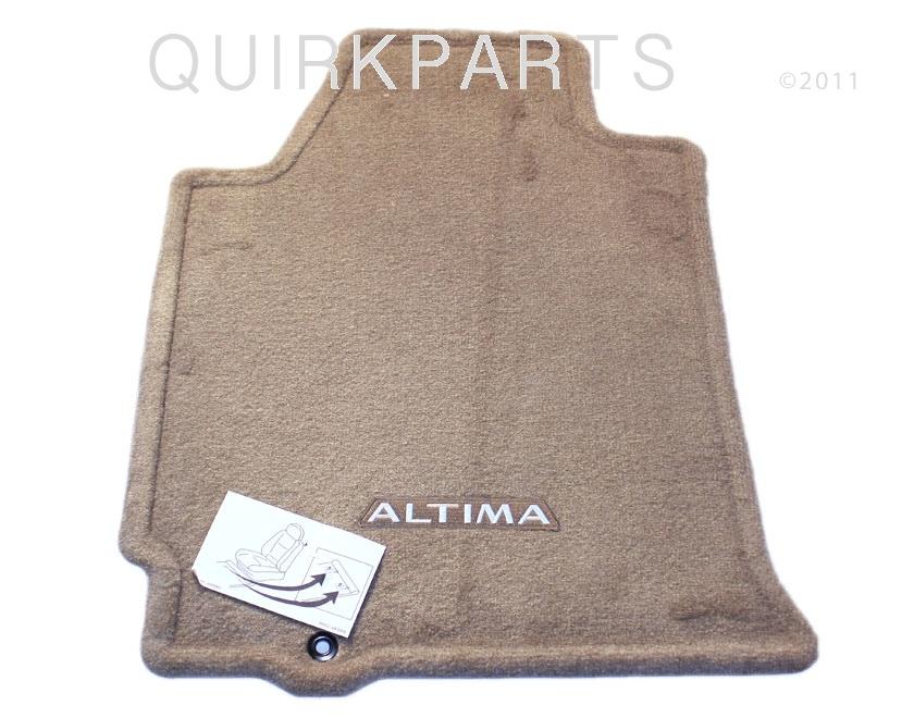 2007 2009 Nissan Altima Sedan Carpeted Floor Mats Beige
