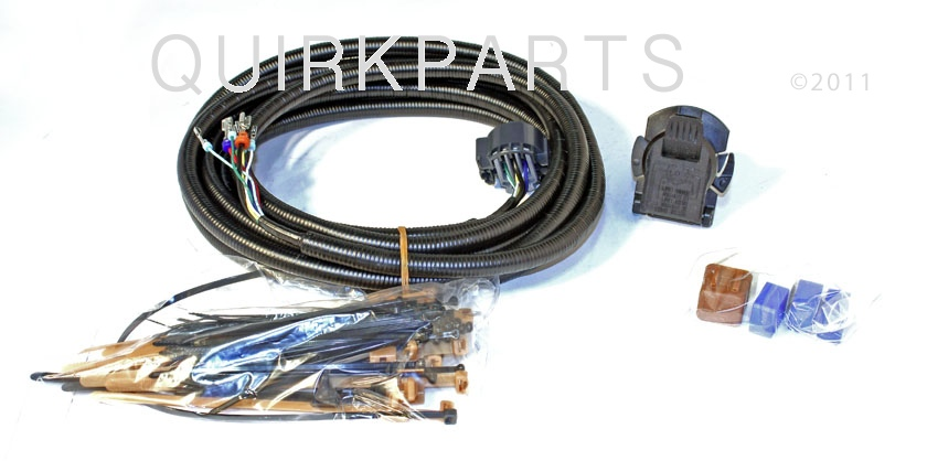 2012 2014 nissan nv 1500 2500 3500 7 pin towing tow harness kit genuine new ebay. Black Bedroom Furniture Sets. Home Design Ideas