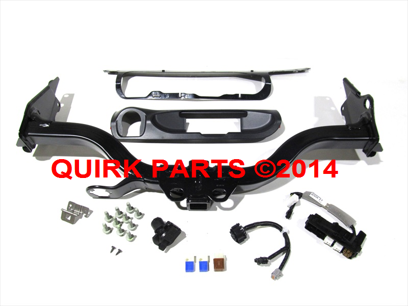 2013 2014 nissan pathfinder trailer tow hitch harness bumper finisher oem new