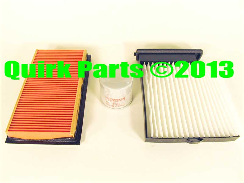Nissan Versa Oil Filters http://www.ebay.com/itm/2007-2012-Nissan-Versa-Tune-Up-Kit-Air-Oil-Cabin-Filters-OEM-NEW-Genuine-/190801322461