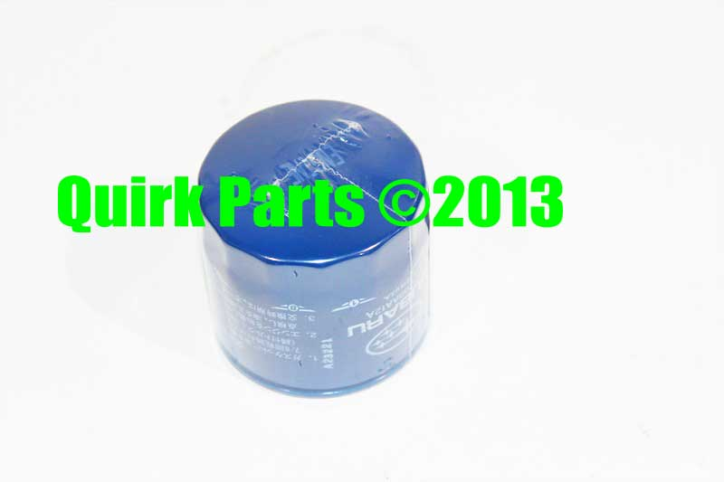 1995 2012 subaru 4 cyl oil filter genuine oem brand new. Black Bedroom Furniture Sets. Home Design Ideas