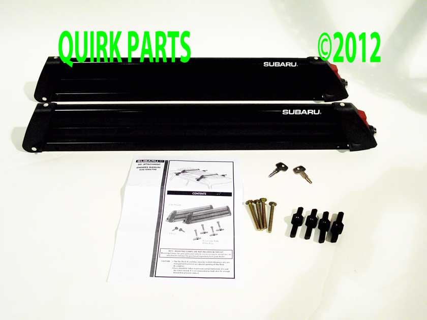 Subaru Roof Rack Ski Snowboard Attachment Amp Mount Clamps