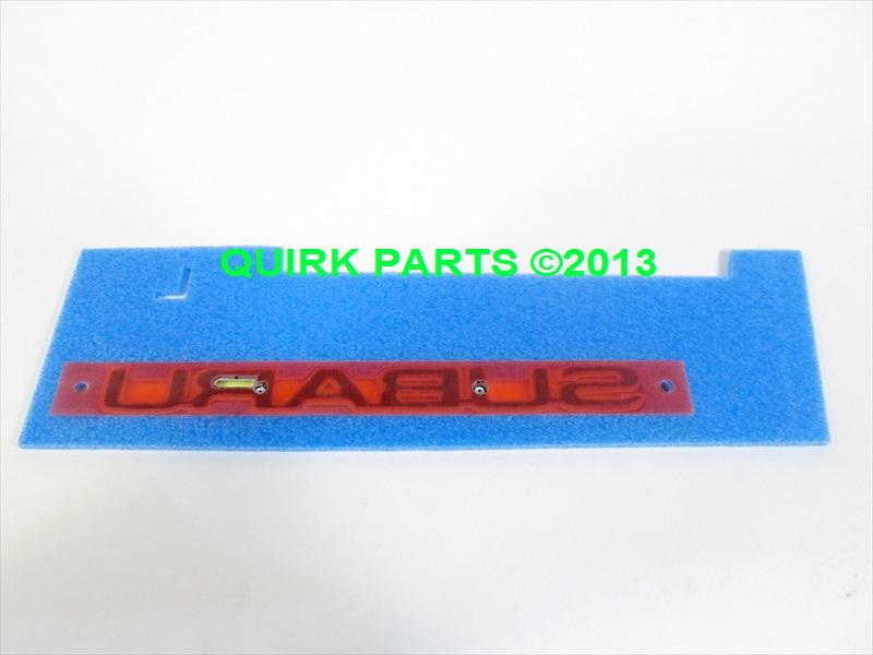 2005 2009 Subaru Legacy Outback Rear Lift Gate Nameplate New Genuine