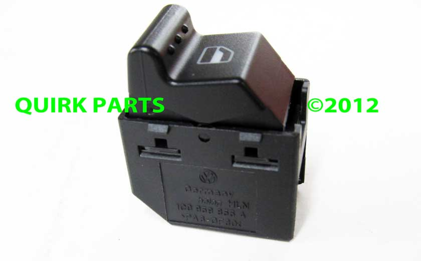 Genuine volkswagen part number 1c0 959 855 a 01c for 2000 vw beetle power window switch