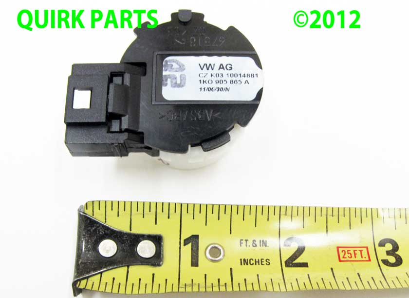 vw volkswagen ignition switch beetle eos golf gti jetta tiguan rabbit  oem ebay