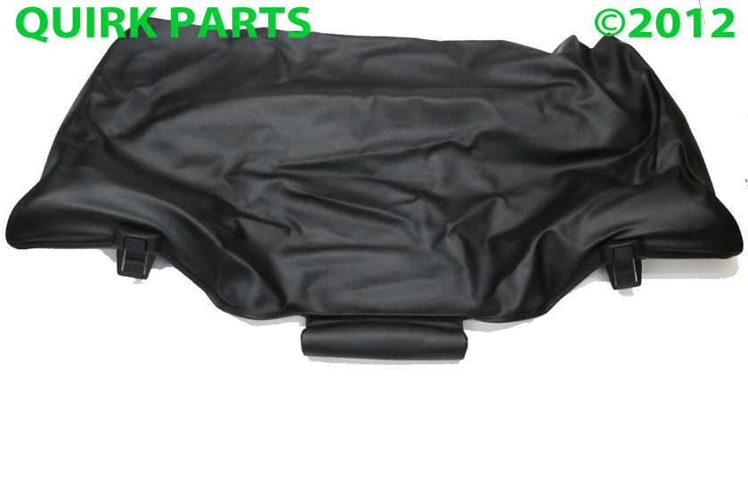 vw volkswagen  beetle convertible boot top cover black genuine oem ebay